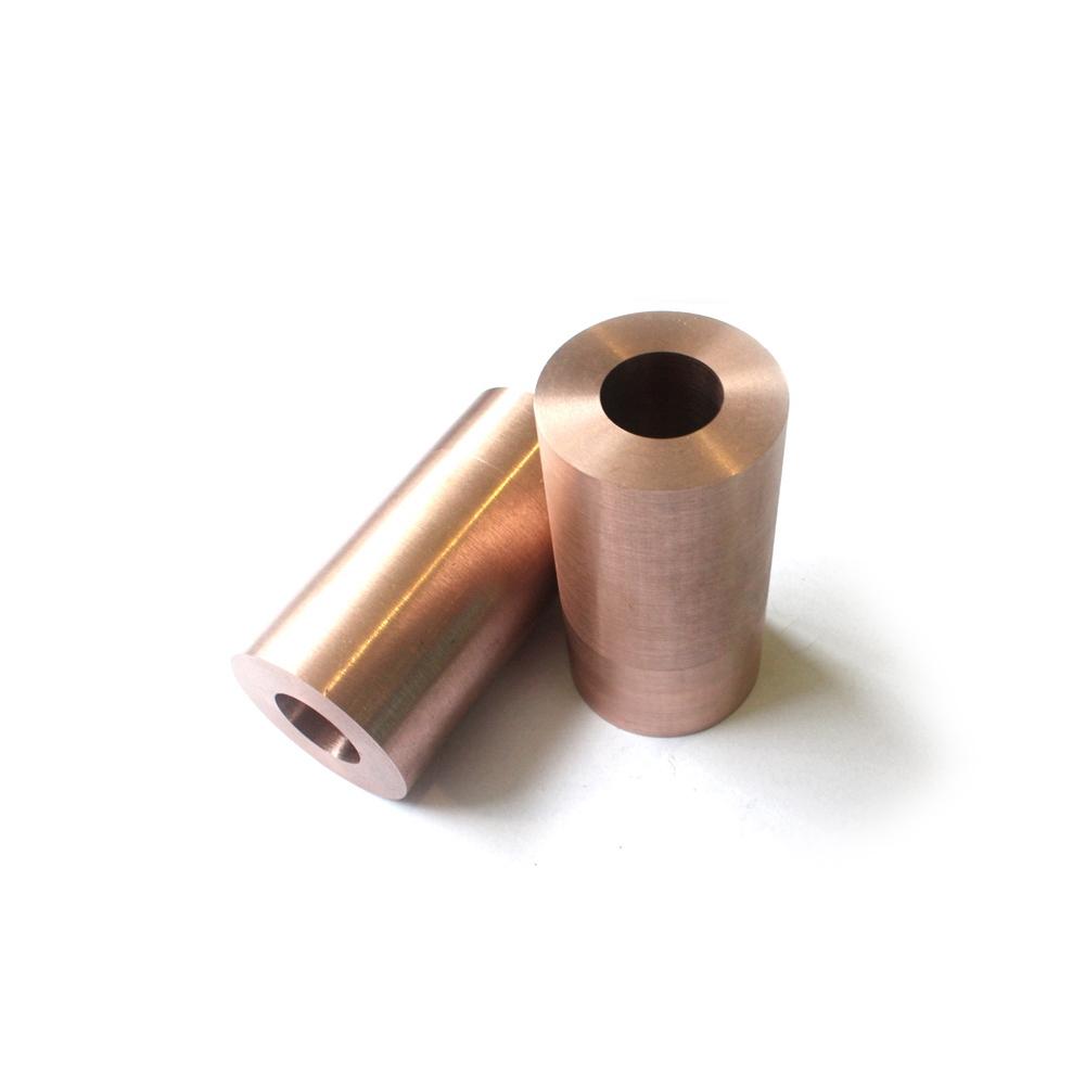 W75Cu25 Copper tungsten alloy tube tungsten copper cylinder