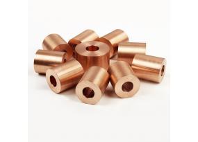 CuW70 CuW75 Copper Tungsten Round tube for EDM electrode