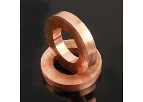 Customzied W80Cu20 copper tungsten hoop for aerospace